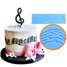 Music Note Cake Decorations
