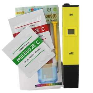 Portable Digital PH Meter Tester TDS Meter Pen Medidor PH 0.0-14.0 PH High Accuracy for Drink Food Lab PH Monitor with ATC