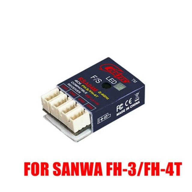 RSA04M 4CH Ricevitore FH-3/FH-4T Compatibile per Sanwa M12 M11X EZES MT-4 M-3 GEMINI MT-S MT-4S M12S