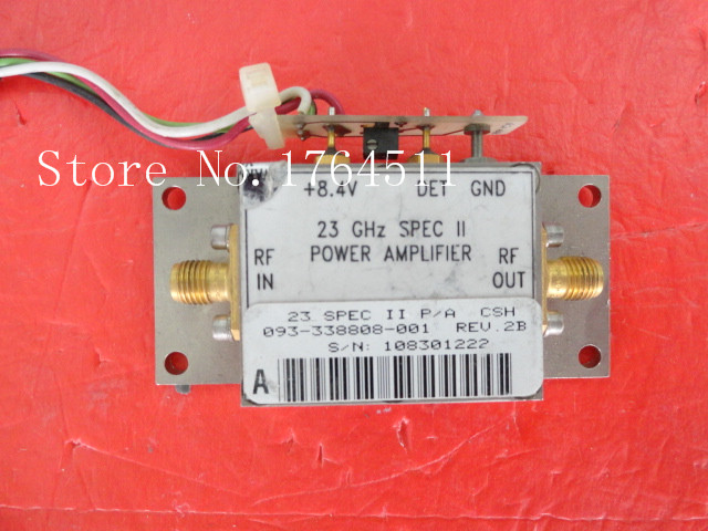 [BELLA] HARRIS 093-338808-001 23GHz 8.4V SMA supply amplifier[BELLA] HARRIS 093-338808-001 23GHz 8.4V SMA supply amplifier