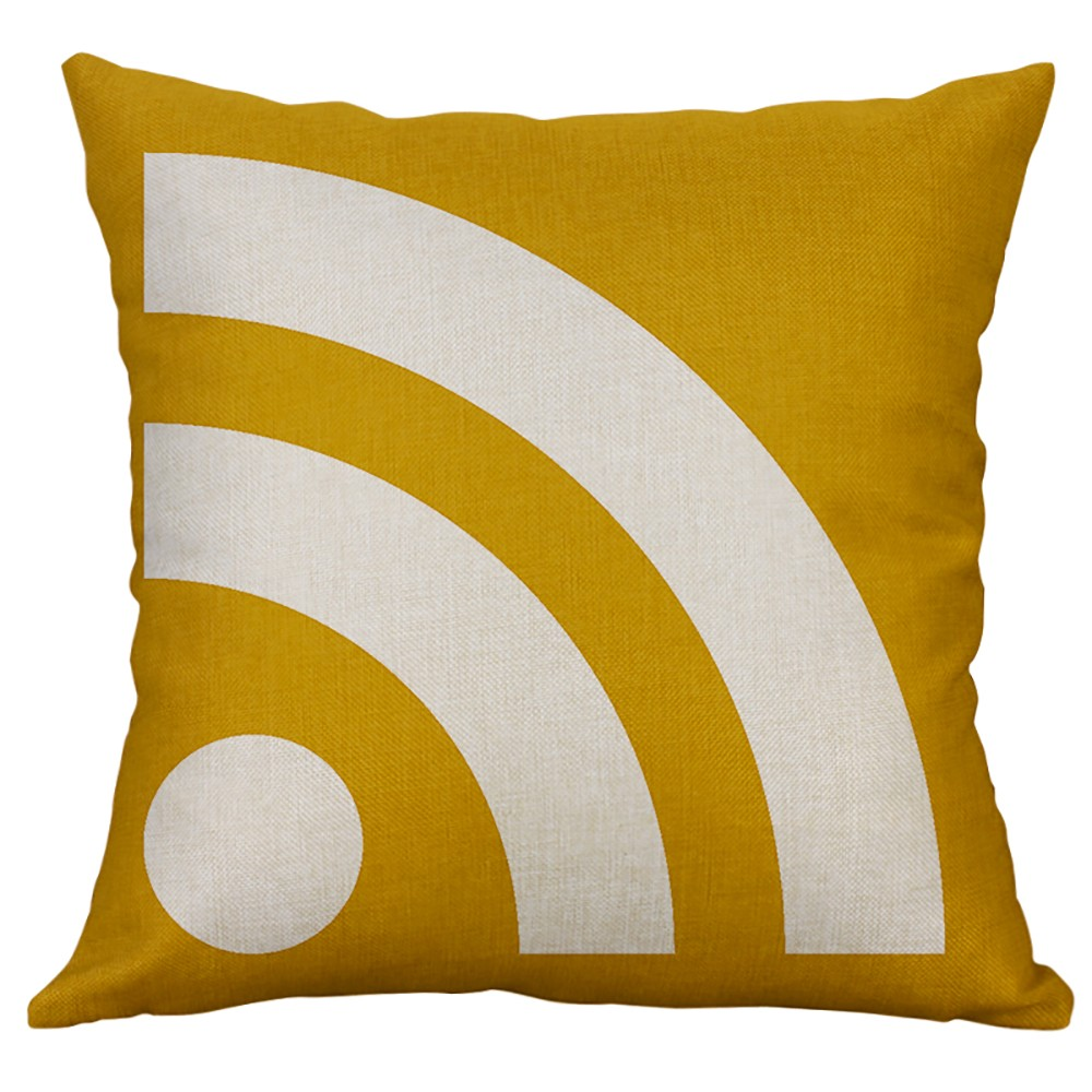 Cushion Cover Home & Garden Learned 4 Styles Yellow Pillow Cover 40*40 Cushion Cover Decorative Pillowcases Geometric Home Decor Throw Pillowcase F300408 Making Things Convenient For The People