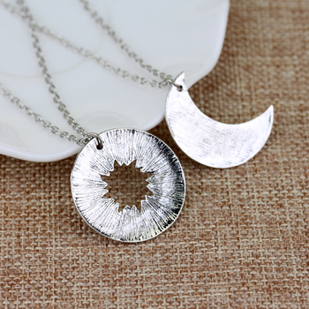 SG Fashion Lover's Jewelry Game Of Thrones Necklace Moon Of My Life My Sun Stars Pendant Necklace