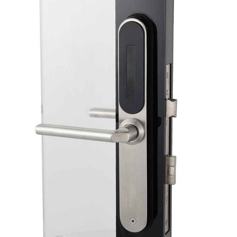 Image 3 - Electronic Door Lock, WiFi App Smart Bluetooth Digital APP Keypad Code Keyless Door Lock,Password Keyless Door Home Lock-in Electric Lock from Security & Protection