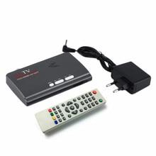 Новый DVB-T/DVB-T2 ТВ-Тюнер Приемник DVB T/T2 TV Box VGA А. В. CVBS 1080 P HDMI цифровой HD Спутниковый ресивер для LCD/CRT мониторы