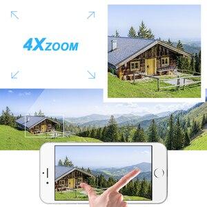 Image 3 - VStarcam bezprzewodowe PTZ kamera IP kopułkowa na świeżym powietrzu 720P HD 4X Zoom bezpieczeństwa CCTV wideo sieci obserwacja IP kamera Wifi