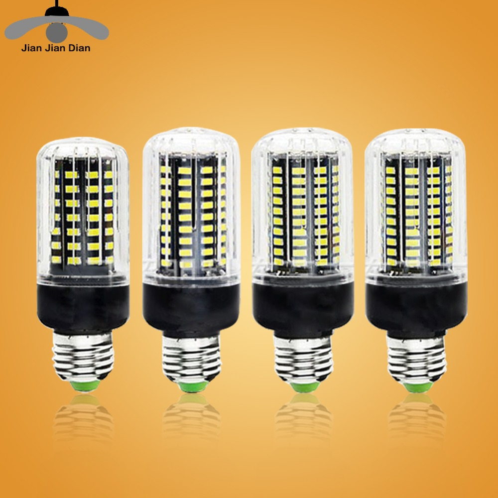 Jjd e27 led lamp e14 led corn bulb lampada 24 36 48 56 69 for Lampada led e14