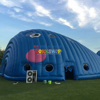 Inflatable outdoor Children's trampoline whale castle