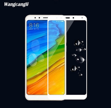 wangcangli for xiaomi redmi 5 glass screen protector plus 3d Scratch-resistant Explosion-proof HD