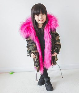 Image 3 - Cold Russian Winter Girls Jackets 2019 Boys Coat Hooded Faux Fur Children Parkas Casual Thicken Warm Baby Kids Clothes Outerwear