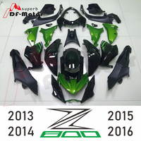 New Gloss Black Green ABS Plastic Injection Fairing Kit Motorcycle Fairings For Kawasaki Z800 Year 2013 2014 2015 2016 13 16