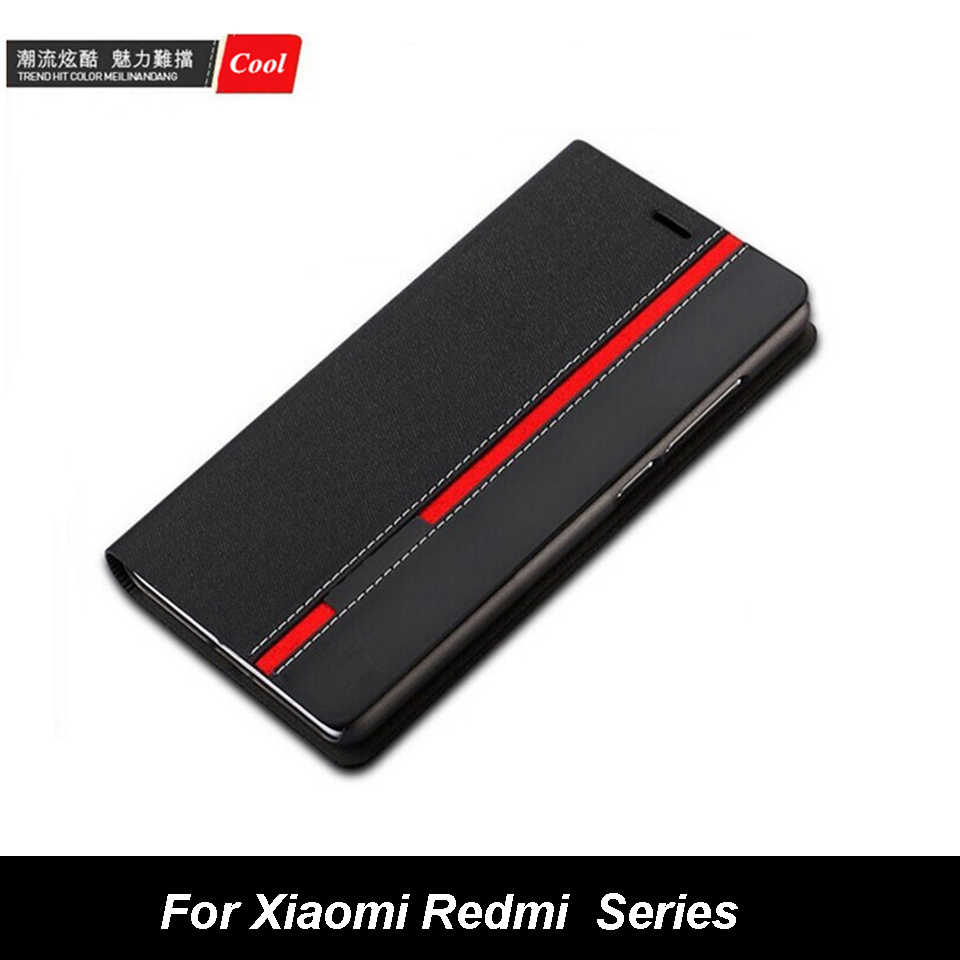 Luxury Wallet Stand Mixed Colors Flip PU Leather Case For Xiaomi Mi9T Mi8 SE MIX3 F1 MAX 3 Redmi Note K20 Pro 4X 5A 5 Plus Cover
