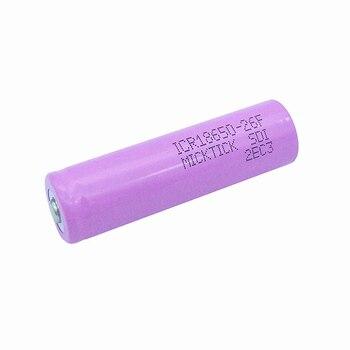 16PCS 3.7V 2600mAh 18650 MICKTICK Bateria baterias de lítio li-ion Capacidade recarregável Bateria T6 Lanterna LED 1