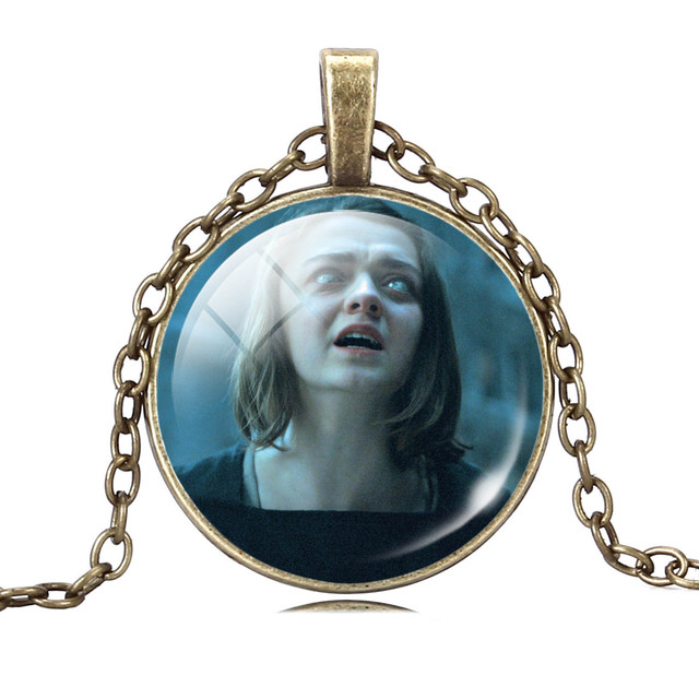 Game of Thrones Glass Jewelry Necklaces Pendants