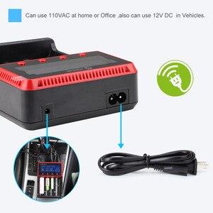 Image 5 - Зарядное устройство VONTAR VT4, 4 слота, ЖК дисплей, аккумуляторная батарея для NiMH Ni CD LiFePo4 AA AAA 26650 14500 22650 18650 PK D4 D2