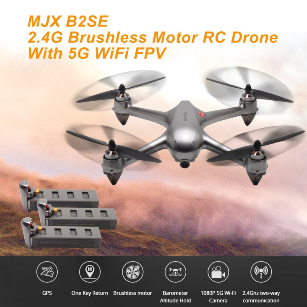 New MJX B2SE RC Helicopter 2.4G Brushless Motor RC Drone With 5G WiFi FPV 1080P HD Camera Professional Quadcopter VS B5W Toys   New MJX B2SE RC Helicopter 2.4G Brushless Motor RC Drone With 5G WiFi FPV 1080P HD Camera Professional Quadcopter VS B5W Toys