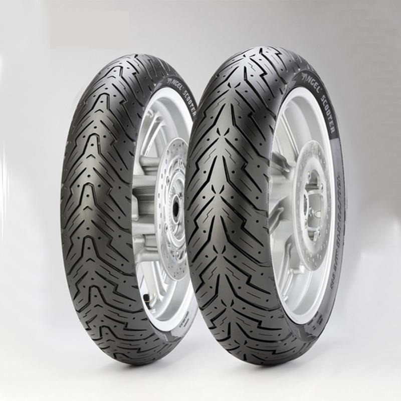 все цены на Motorcycle Tyre Tubeless Tire 110/120/130/70/90/12/13/14 For Yamaha Scooter Bws Cygnus Honda Racing Tyre онлайн