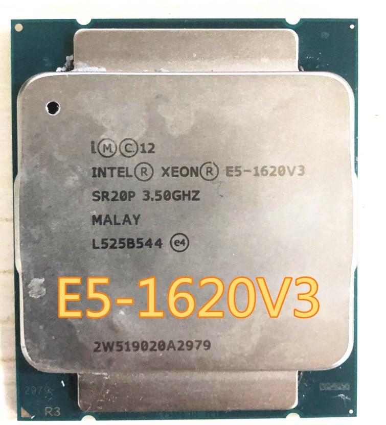 Оригинальный процессор Intel Xeon E5 1620 v3, 4 ядра, 3,50 ГГц, 10 МБ, 2133, DDR4, МГц, МГц, TPD, 140 Вт, E5, 1620V3