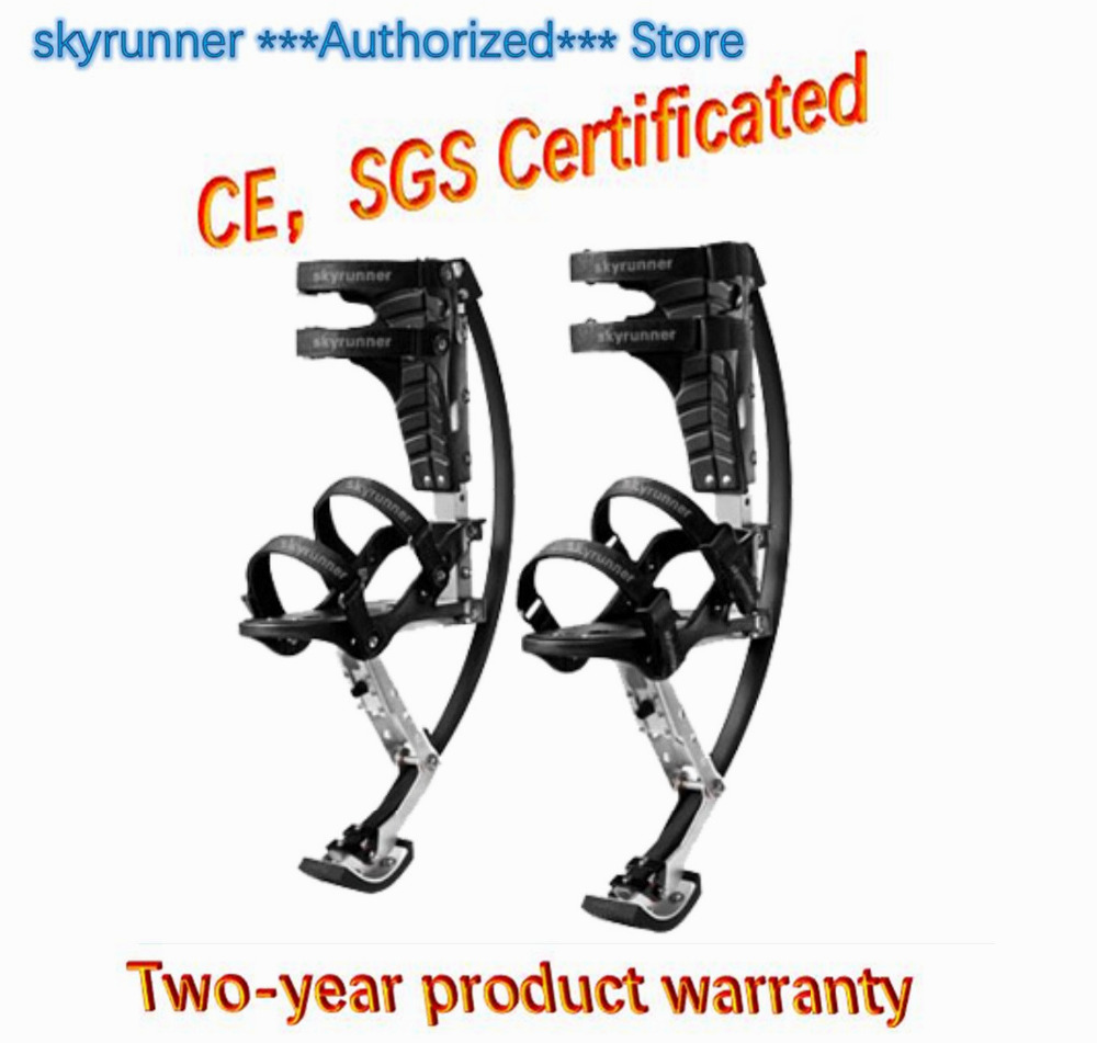 Skyrunner For People Weight:66~110 lbs/30~50kg black Jumping Stilts/skyrunner/Jump shoes/Flying Shoes