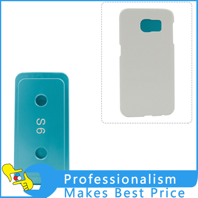 Good quality  Phone Cover Heating Tool 3D sublimation Printed Heat Press Transfer Mold Mould for Samsung Galaxy S6 solid aluminium alloy 3d heat press phone case mould for huawei ascend p6