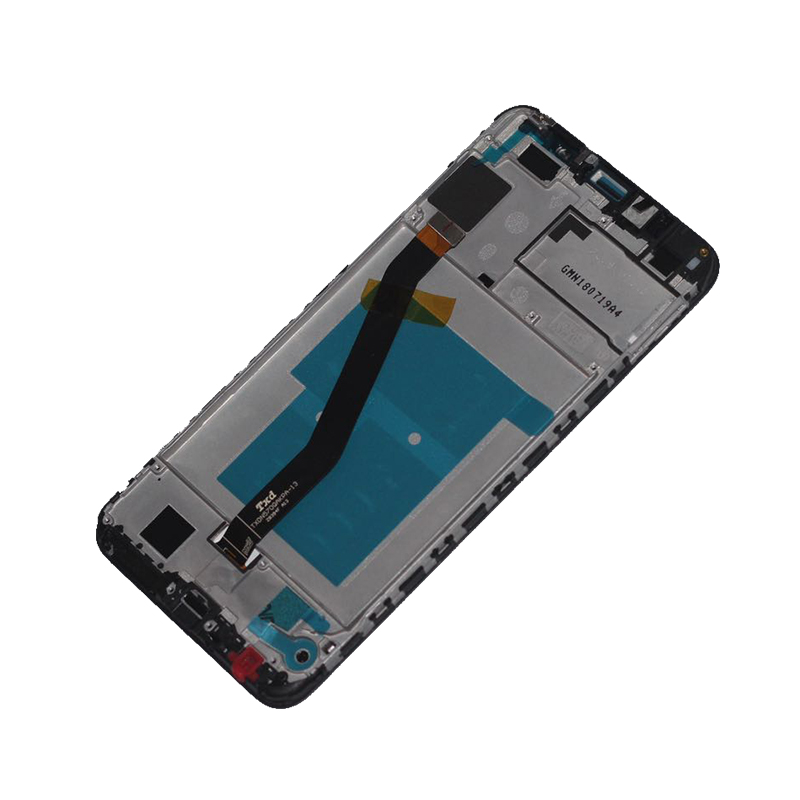 """Image 4 - New with frame 5.7"""" LCD monitor For Huawei honor 7C Aum L41 LCD display + touch screen mobile phone screen repair parts-in Mobile Phone LCD Screens from Cellphones & Telecommunications"""