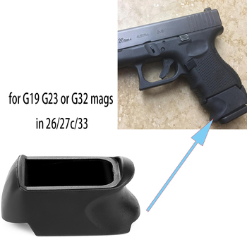 Magorui X-Grip Adapter for Glock 26 27C Use G19 G23 or G32 Mag in GlockG26 G27 or G33 buddhist rope bracelet