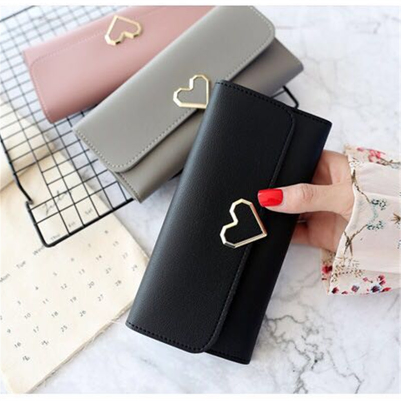 New Designs Fashionable Luxury Womens Wallets Wallets Womens Wallets perse Portomonee Portfolio Ladies Long Style Carteras Lo