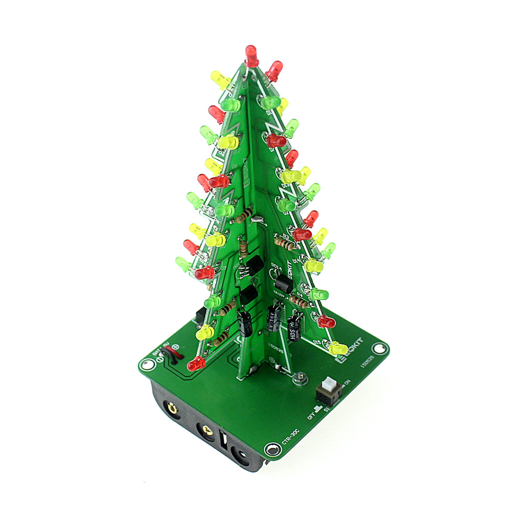 Popular tree kits buy cheap tree kits lots from china tree for Red and yellow christmas tree