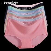 489f964355ac 5 Pack New Underwear Women Seamless Panties For Dress Sexy Cheeky Briefs  Lingerie Bikini Underpants Culotte