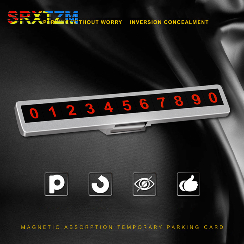 Official Website Temporary Car Parking Card Telephone Number With Led Light Notification Night Light Sucker Plate Car Styling For Ford F Rio Back To Search Resultsautomobiles & Motorcycles