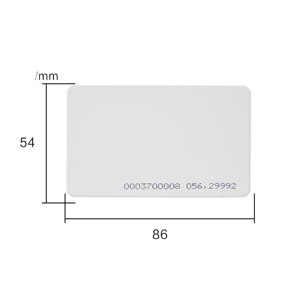 TK(EM)4100 ID CARD Reaction ID Card 125KHZ RFID ID Blank Card Fit For Access Control Time Attendance
