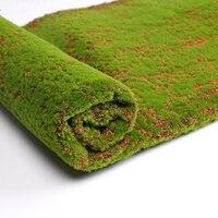 Wedding Decoration 1m*1m Artificial Grass Mat DIY Mini Fairy Garden Plants Home Wall Floor Decor Simulation Micro Landscape