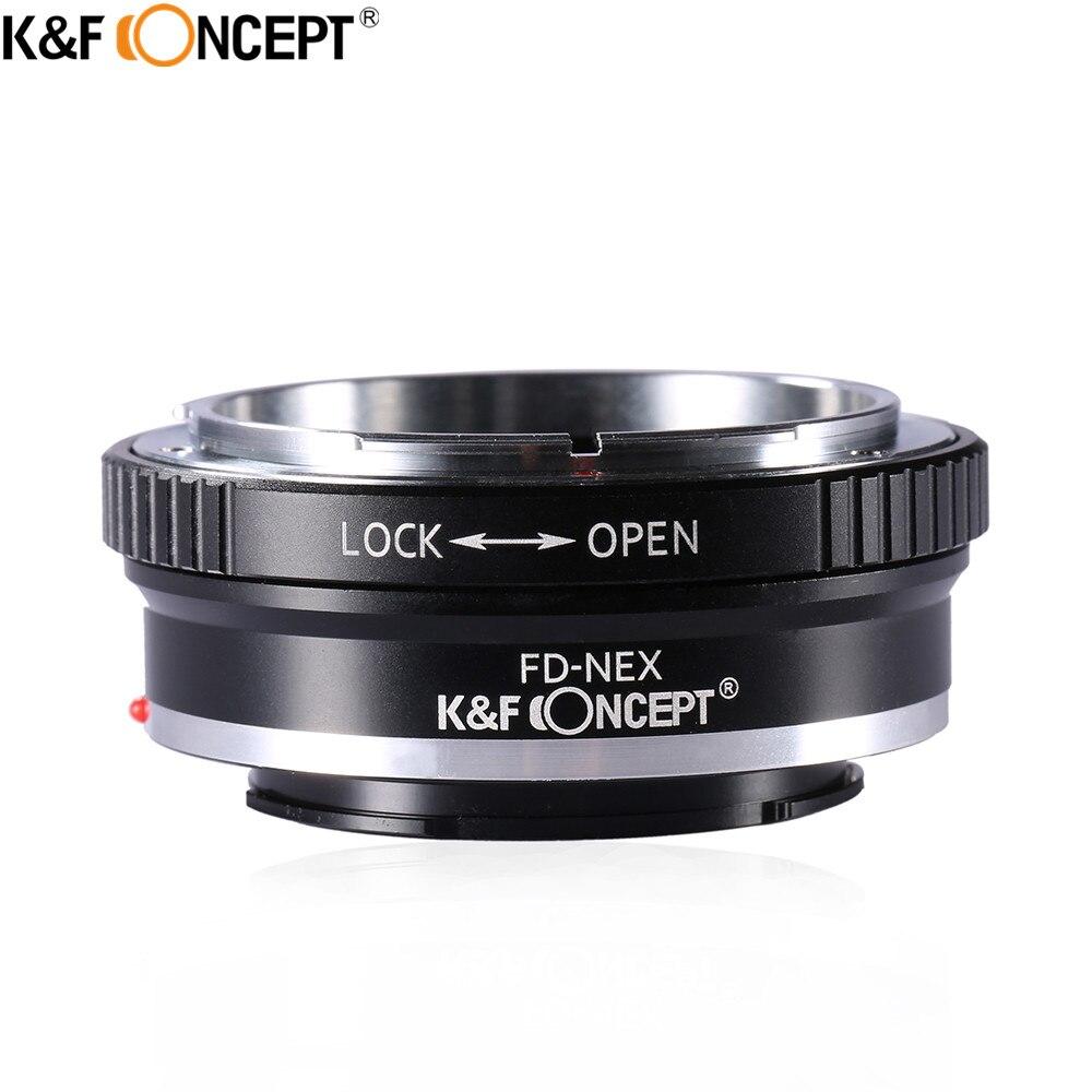 Lente de la cámara K&F CONCEPT FD-NEX Anillo adaptador para lente FD - Cámara y foto