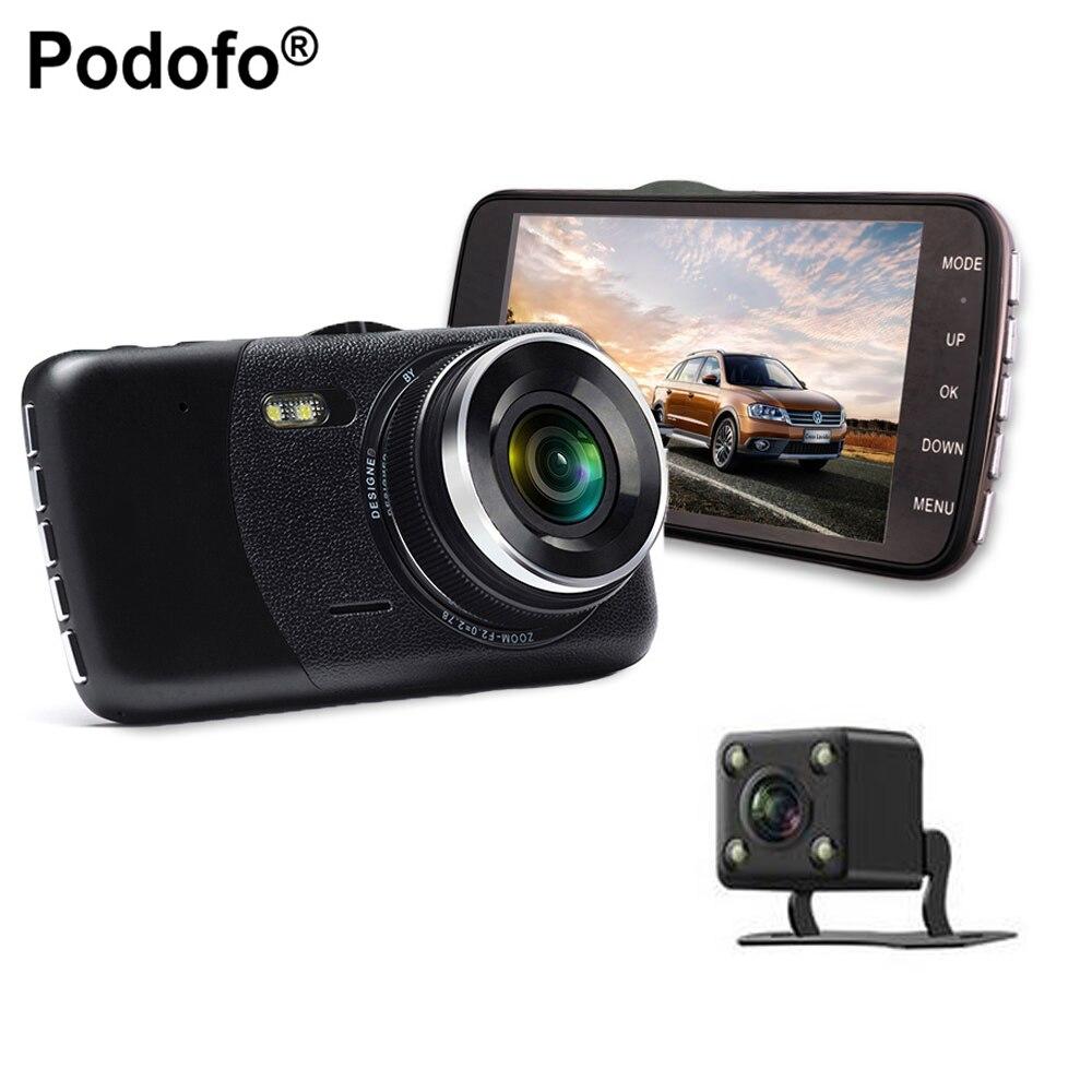 podofo 2 lens car dvr dual cameras 4 full hd 1080p car. Black Bedroom Furniture Sets. Home Design Ideas