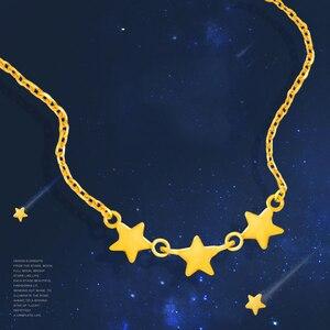 Image 3 - SFE 24K טהור זהב שרשרת אמיתי AU 999 מוצק זהב שרשרת יפה עלה אופנתיים יוקרתיים קלאסי תכשיטים חמה למכור חדש 2020