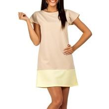 2017 Summer Fashion Casual Women Tshirt Dresses Short Sleeve O-neck Mini Party Shift Dress