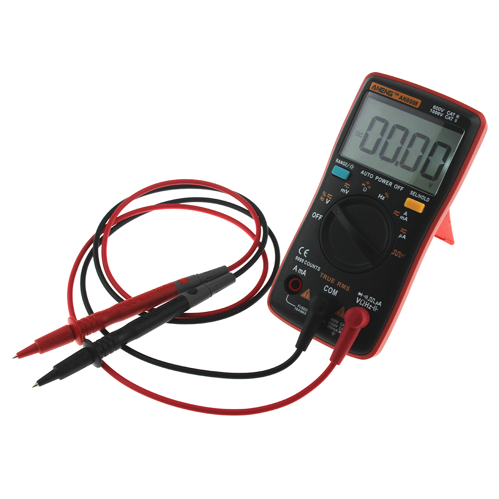 HTB1wsgPeMnH8KJjSspcq6z3QFXaJ AN8008 AN8009 Auto Range Digital Multimeter 9999 counts With Backlight AC/DC Ammeter Voltmeter Ohm Transistor Tester multi meter
