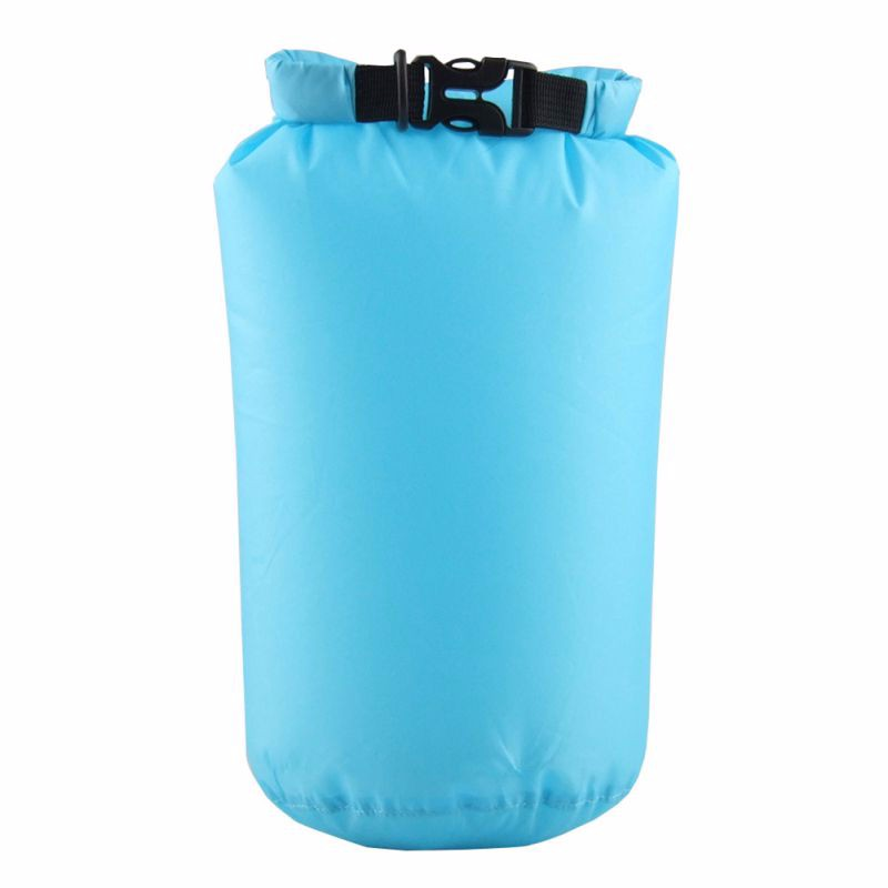 8L Nylon Portable Waterproof Dry Bag Pouch for Boating Kayaking Fishing Rafting Swimming Camping Rafting SUP Snowboarding