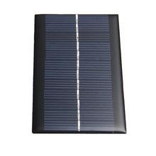 Painel de Energia DIY para Telefone Mini 6 V 1 W Solar Sistema Celular Bateria Carregadores Portable Transporte DA Gota