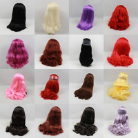 free shipping fortune days factory RBL Blyth Doll icy Scalp dome Wig 1/6 hair toy gift