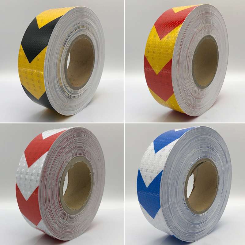 50mmx10m  Reflective Tape Stickers Car-styling Self Adhesive Warning Tape