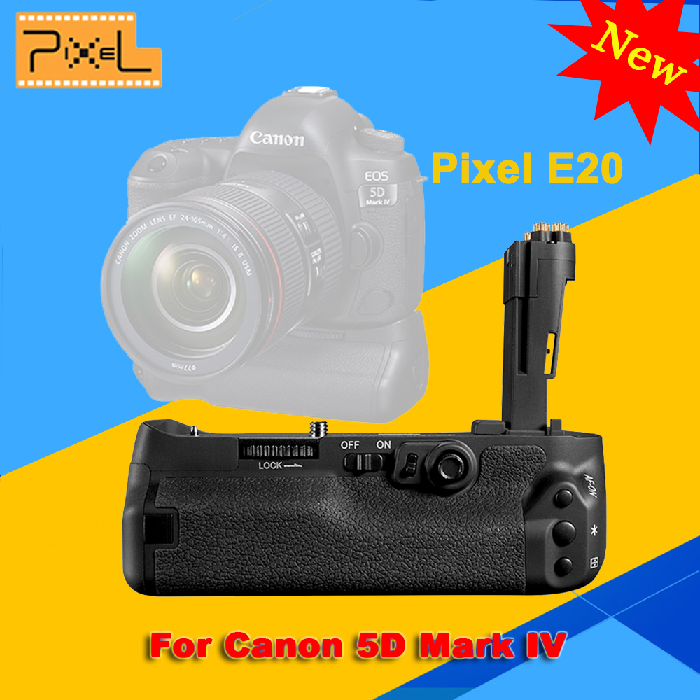 NEW Pixel E20 Battery Grip For Canon 5D Mark IV / 5D4 / 5D MarkIV Camera Professinal Battery Grip цена и фото