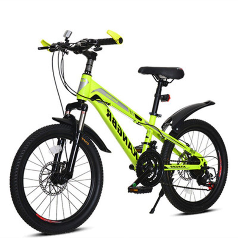 22-Inch Youth Speed Change Disc Shock Absorber Mountain Bike Primary And Secondary School Students Adult Mountain Bike