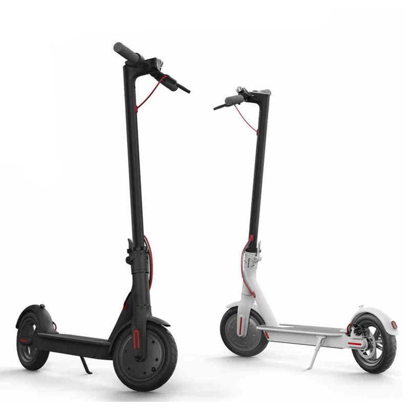 Anti-Slip Xiaomi Mijia M365 Electric Scooter Handle Bar Brake Grip Gigi Tetap Karet Penutup untuk Skateboard Pengganti set