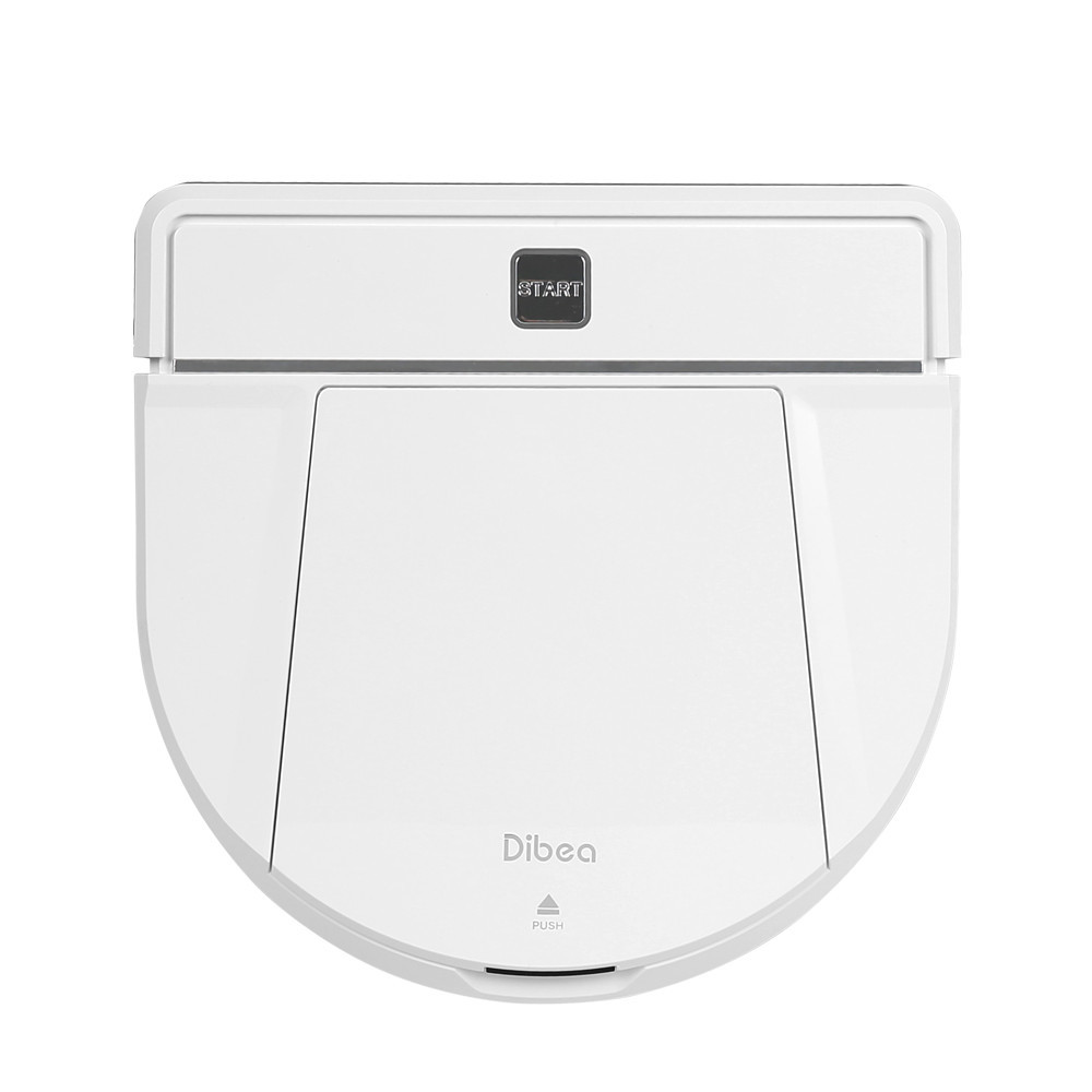 Dibea D850 1200Pa Smart Robot Vacuum Cleaner With Wet/Dry Mopping Function Wireless Vacuum Cleaner Powerful Suction Cleaning цена и фото