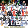 1PC Starwars Imperial Death Trooper Clone Trooper C-3PO Bobafeet Count Dooku Sith Lords diy figures Building Block Kids DIY Toys