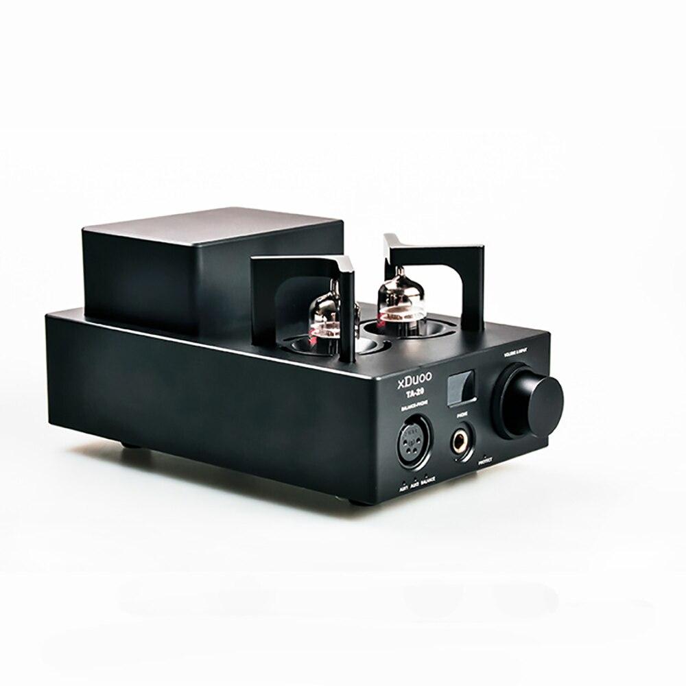 XDUOO TA-20 haute Performance équilibré 12AU7 Tube amplificateur de puissance amplificateur de puissance AUX pré-amp
