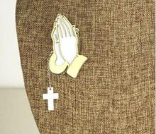 Мужская/Женская Брошь с изображением Иисуса