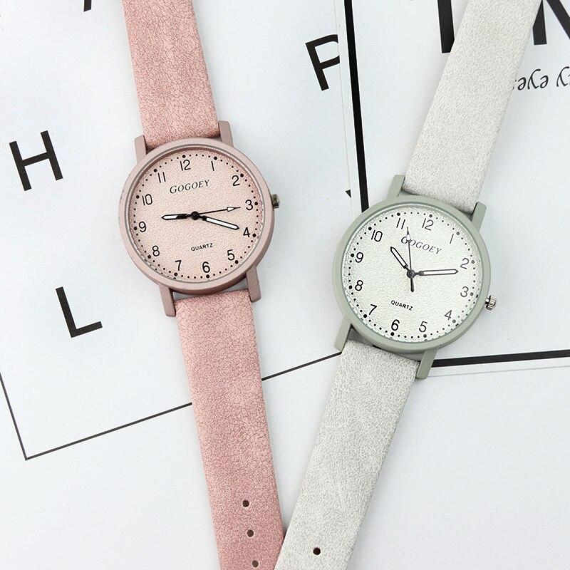 Gogoey Top Brand Women's Watches Fashion Leather Wrist Watch Women Watches Ladies Watch Clock Bayan Kol Saati Reloj Mujer #2
