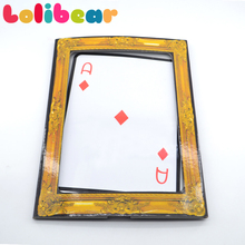 Prediction Made Visible - Queen to Ace Card Magic Tricks Funny Stage Magic Illusions Appearing Magica Gimmick Props Magic Shows