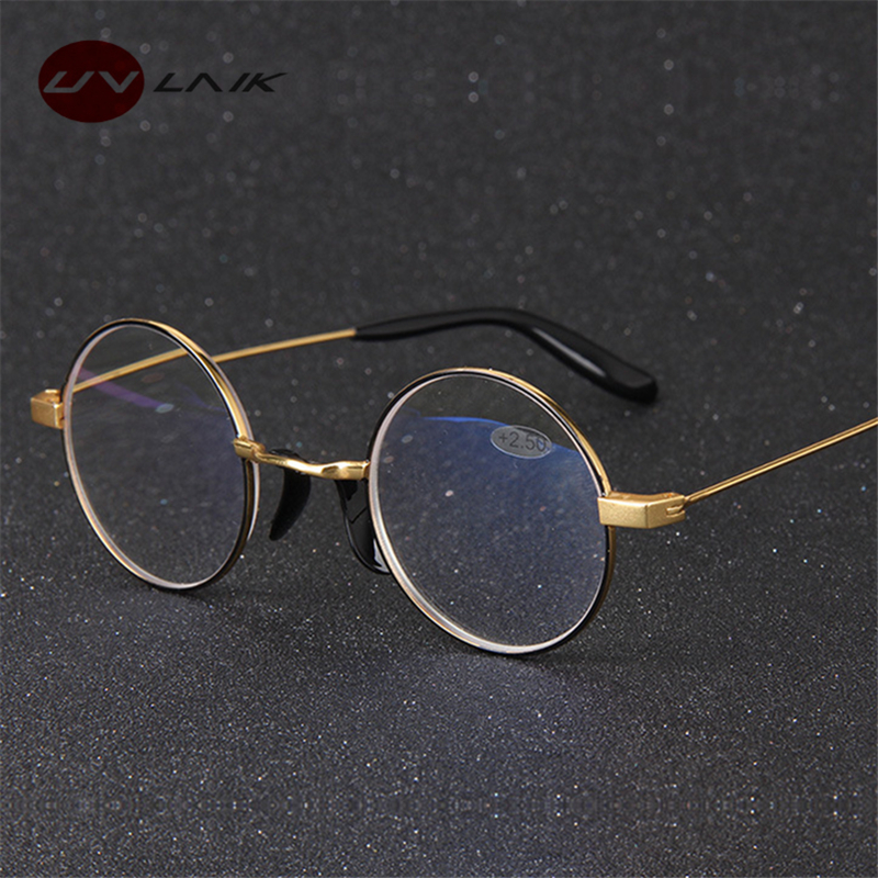 e569f6b33be8 Detail Feedback Questions about UVLAIK Men Anti Blu ray Round Reading  Glasses for Harry Potter Women Retro Gold Frame High Quality Blue light  proof Glasses ...